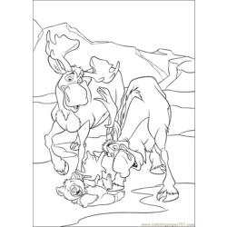 Bear7 Free Coloring Page for Kids