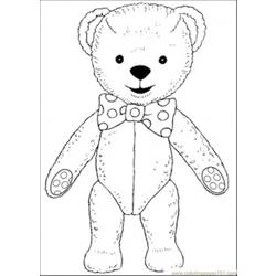 Bear8 coloring page