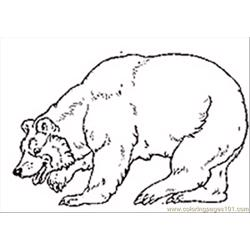 N Mural Bear75 Free Coloring Page for Kids