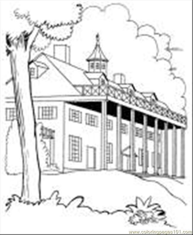03 Buildings 001 Sm150 Coloring Page