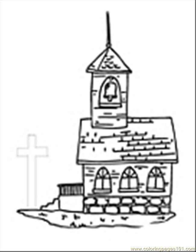 Church09 Coloring Page