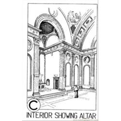 Altar In Chapel coloring page
