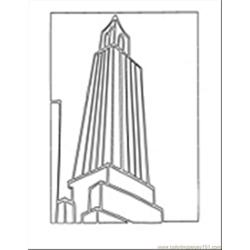 Building17 Free Coloring Page for Kids