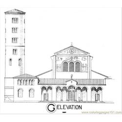 Elevation Free Coloring Page for Kids