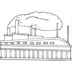 Toys Factory Free Coloring Page for Kids