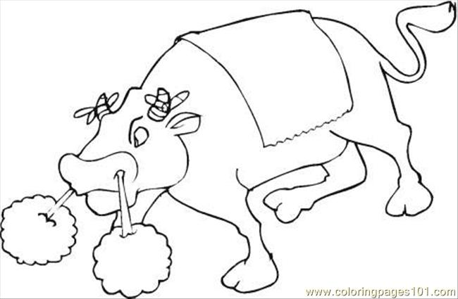 Bull 13 Coloring Page Coloring Page