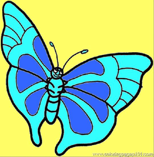 Butterfly 5 Coloring Page Coloring Page