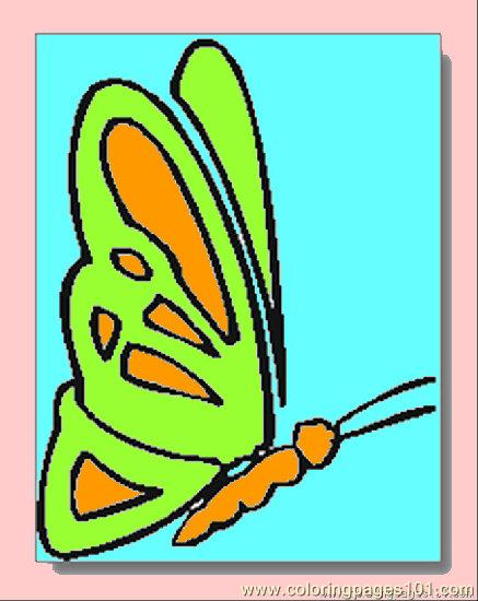 Butterfly Coloring Pages04 Coloring Page