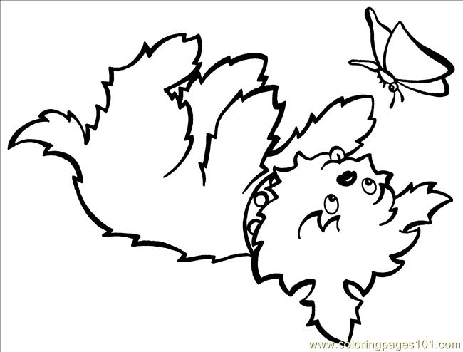 Teacupbutterfly Big Coloring Page