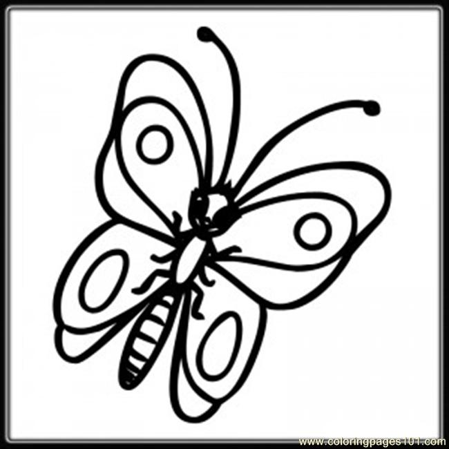 Butterfly10 Coloring Page