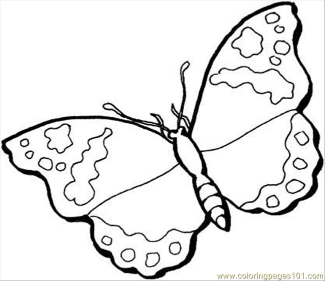 Butterfly 12 Coloring Page Coloring Page