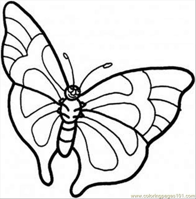 butterfly baby coloring pages - photo#9