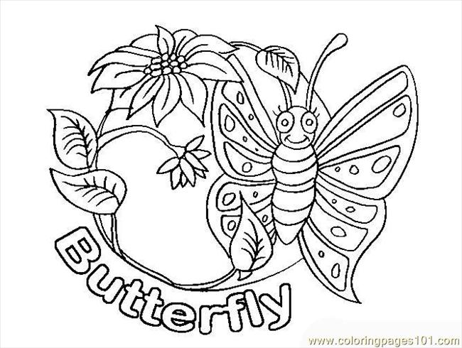 butterfly coloring pages 1 coloring page