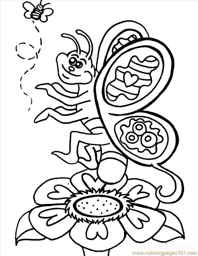 Fun Butterfly Source Lx5 Coloring Page