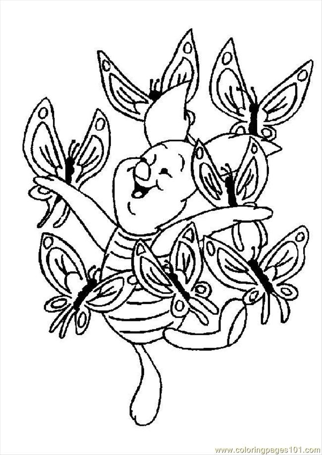 Papillons 19583 Coloring Page