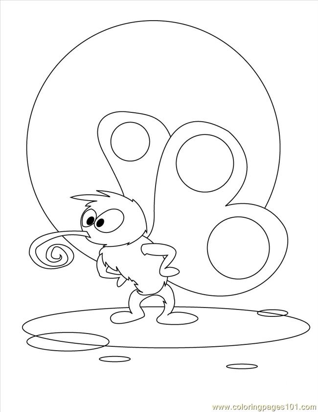 Rfly Coloring Page Sou Coloring Page