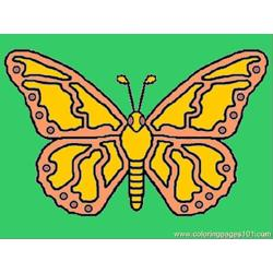 Butterfly%2bcoloring Free Coloring Page for Kids