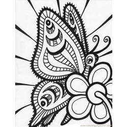 Butterfly%2b20 Free Coloring Page for Kids