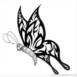 Butterfly Tattoo Design5