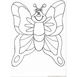Normal Coloring Buterfly 2