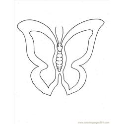 Tterfly Coloring Pages 1 Full
