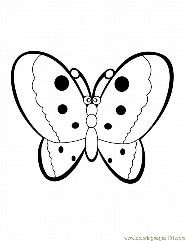 Tterfly Coloring Pages 28 Lrg Coloring Page