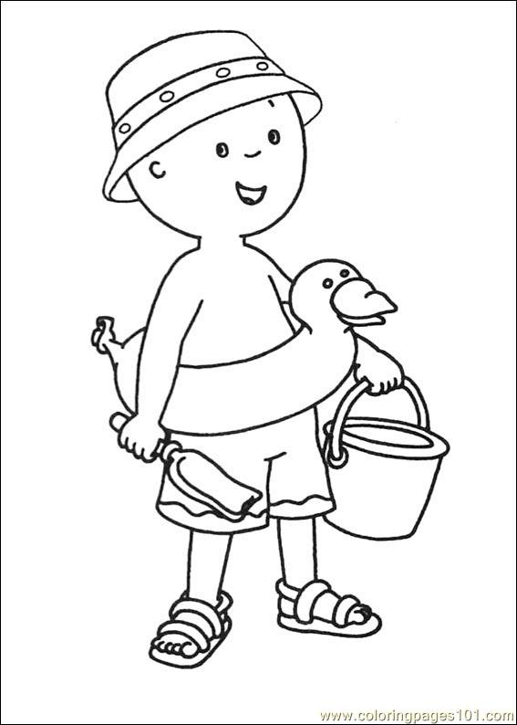 caillou coloring pages 003 coloring page free caillou coloring