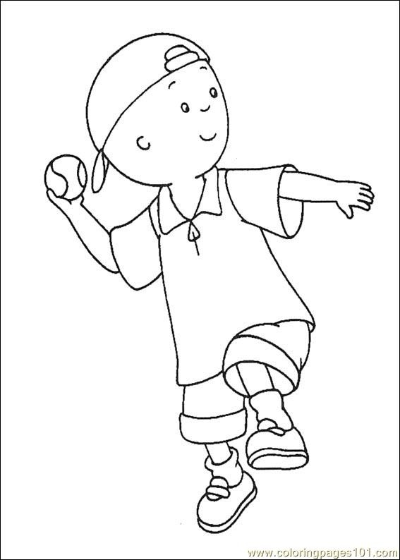 caillou coloring pages 015 coloring page