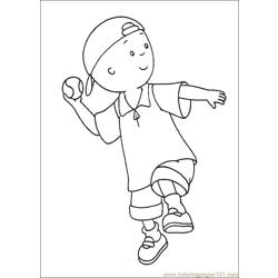 Caillou Coloring Pages 015