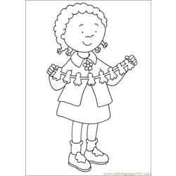 Caillou Coloring Pages 018
