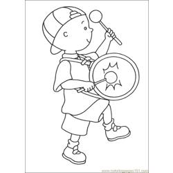 Caillou Coloring Pages 035 coloring page