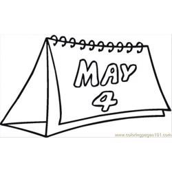 4th Of May coloring page