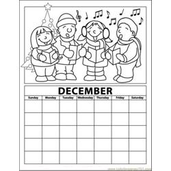 December 03 coloring page