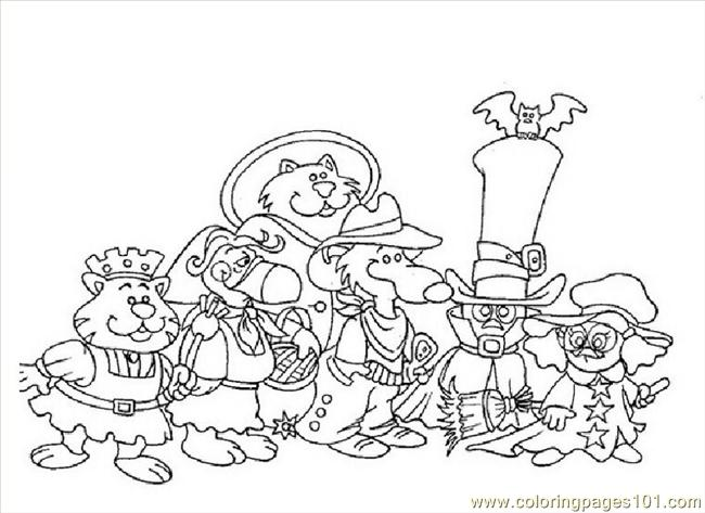 Calimero 16(1) Coloring Page