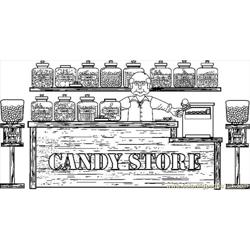 Candystore1bw