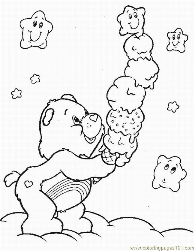 Bears Lrg Coloring Page