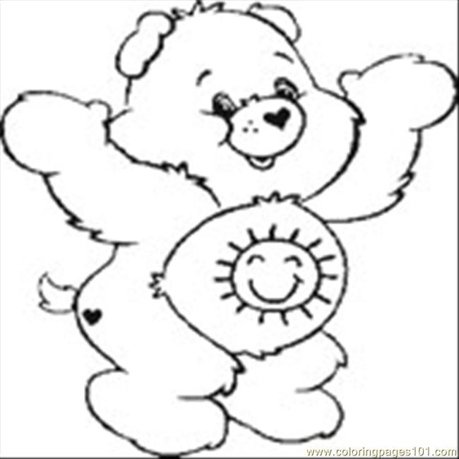 Care Bear 12 Coloring Page Free Care Bears Coloring Pages