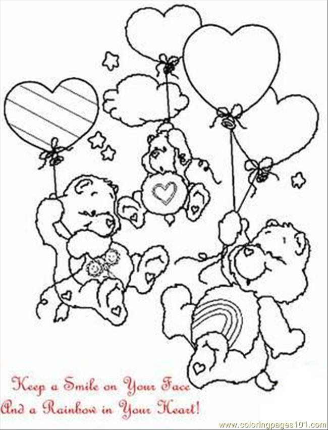 Bed time Bear #2 | Bear coloring pages, Coloring pages, Disney ... | 852x650