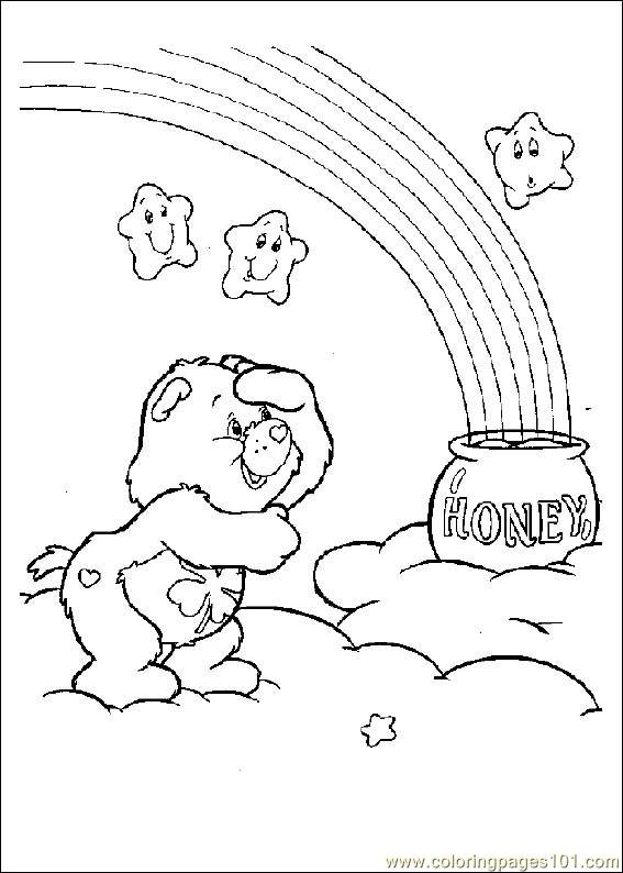 Care Bears04 Coloring Page