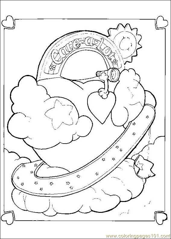 Carebears 06 Coloring Page