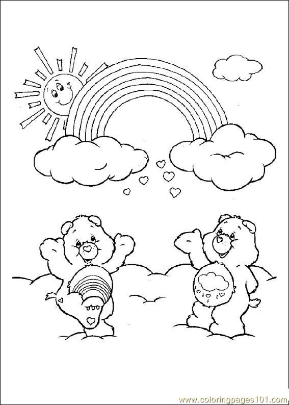 Care Bears08 Coloring Page