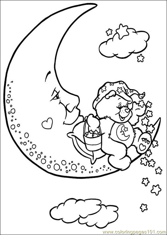 Care Bears9 Coloring Page