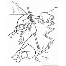 Bear 10 Lrg Free Coloring Page for Kids