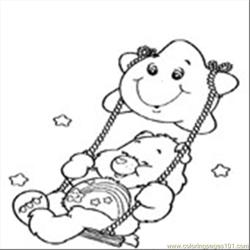 Care Bear 04 coloring page