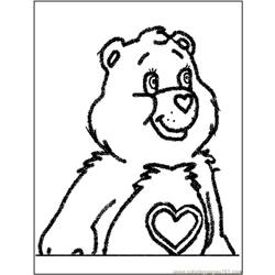 Care Bear5 coloring page
