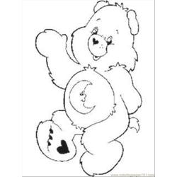 Care Bear Coloring Pages 1