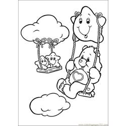 Care Bears01 coloring page