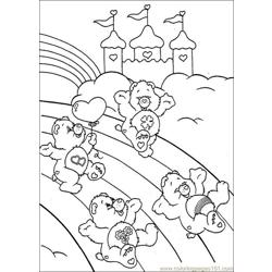 Care Bears 026 Free Coloring Page for Kids