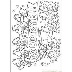 Care Bears02 Free Coloring Page for Kids