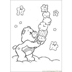 Care Bears03 Free Coloring Page for Kids